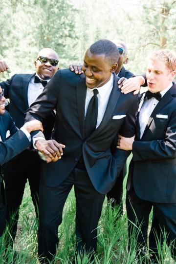 Whimsical Forest Lodge Congolese American Wedding – Honeybee Weddings 9