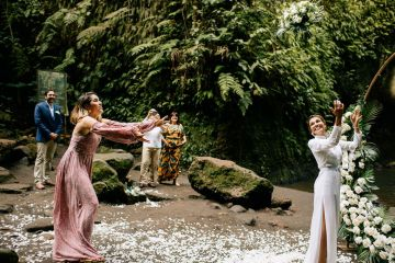 Breathtaking Bali Waterfall Elopement – Vladimir Borodenok 4