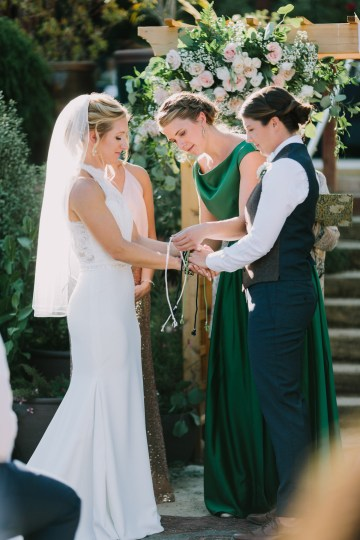 Eclectic San Diego Garden Wedding – Barrels and Branches – Lets Frolic Together 20