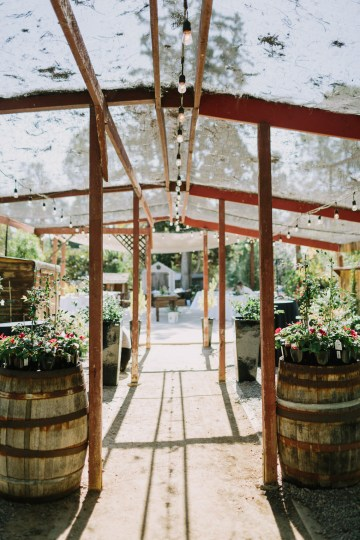 Eclectic San Diego Garden Wedding – Barrels and Branches – Lets Frolic Together 25