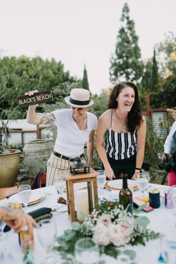 Eclectic San Diego Garden Wedding – Barrels and Branches – Lets Frolic Together 39