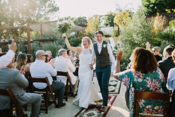 Eclectic San Diego Garden Wedding – Barrels and Branches – Lets Frolic Together 45
