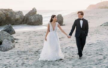 Ethereal Malibu Beach Wedding Inspiration