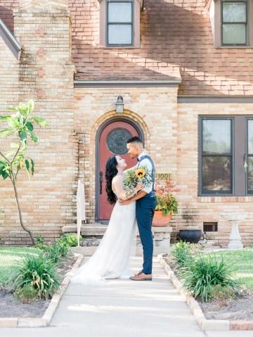 Intimate Summer Cottage Wedding – Rachel Ann Media 16