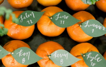 Newport Beach Orange Grove Wedding Filled With Citrus Decor