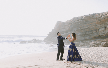 Stunning Red Hindu Destination Wedding In Portugal