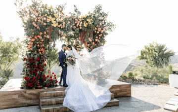 Epic Jewish Wedding At The Magical Hummingbird Nest Ranch
