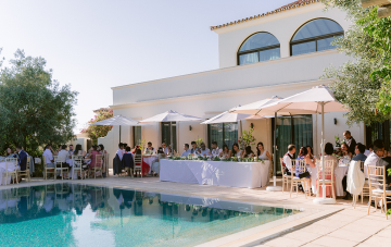 A Poolside Portugal Destination Wedding With Chinese Traditions