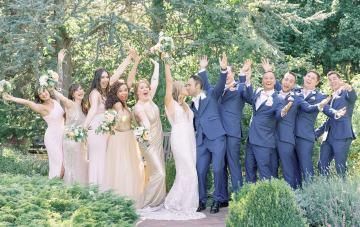 Light & Airy Denver Botanic Garden Wedding