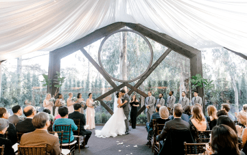 Rustic Malibu Ranch Wedding In A Magical Tent