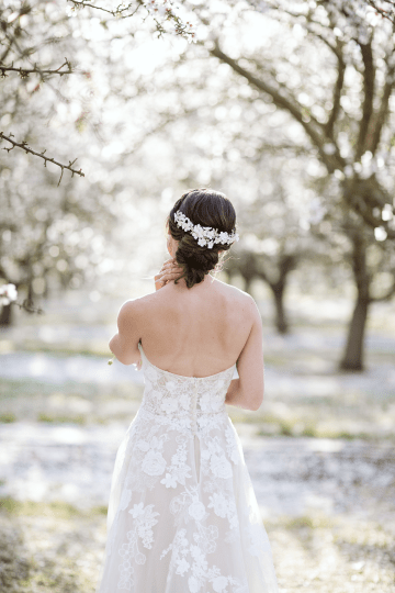 Whimsical Almond Orchard Blossom Wedding Inspiration – Playful Soul Photography 14