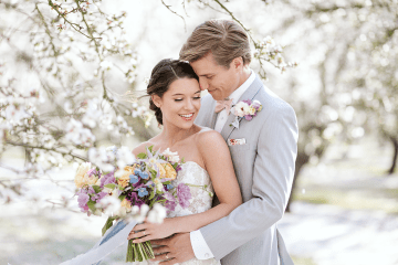 Whimsical Almond Orchard Blossom Wedding Inspiration – Playful Soul Photography 47