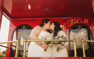 Jubilant New Orleans Wedding In The Park