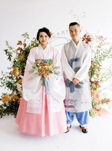 Modern Korean Wedding Inspiration – lilelements – Anadena Photography 17