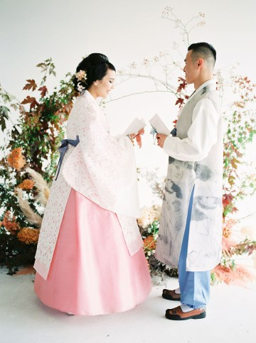 Modern Korean Wedding Inspiration – lilelements – Anadena Photography 26