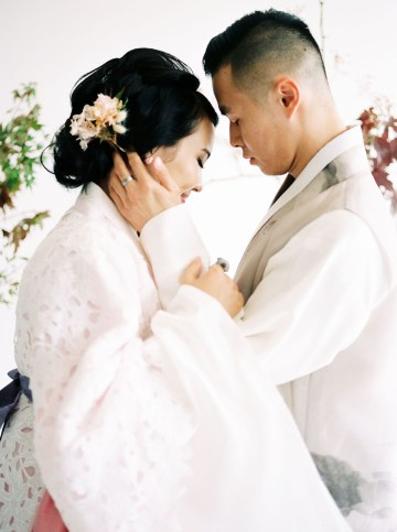 Modern Korean Wedding Inspiration – lilelements – Anadena Photography 28