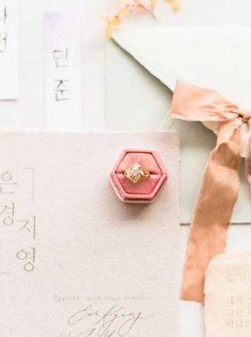 Modern Korean Wedding Inspiration – lilelements – Anadena Photography 35