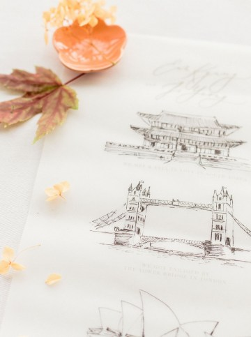 Modern Korean Wedding Inspiration – lilelements – Anadena Photography 37