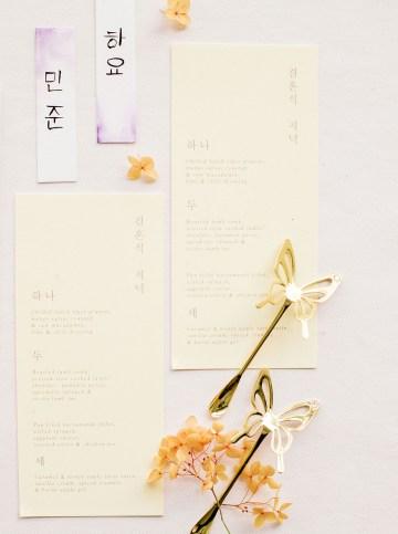 Modern Korean Wedding Inspiration – lilelements – Anadena Photography 42