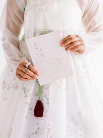 Modern Korean Wedding Inspiration – lilelements – Anadena Photography 53