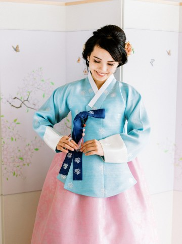 Modern Korean Wedding Inspiration – lilelements – Anadena Photography 85