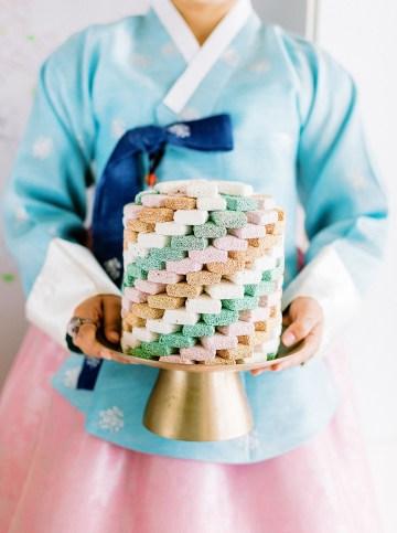 Modern Korean Wedding Inspiration – lilelements – Anadena Photography 86