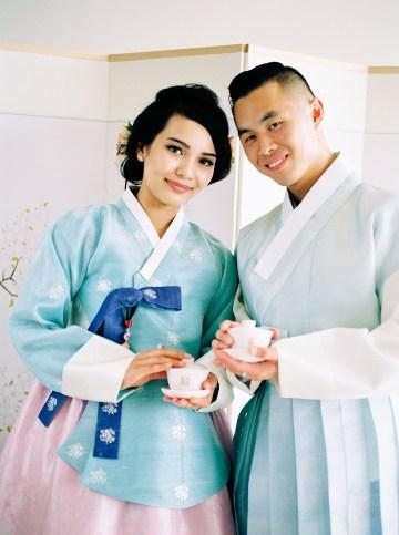 Modern Korean Wedding Inspiration – lilelements – Anadena Photography 93