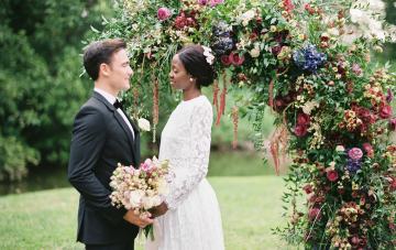 With Love From Zambia Part 1: African Garden Wedding Inspiration