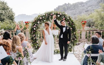 Wildly Romantic Mallorca Destination Wedding