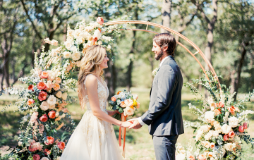Zesty & Bright Citrus Wedding Inspiration