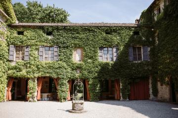 Bohemian Wildflower Wedding in Northern Italy – Margherita Calati – Castello di Paderna 3