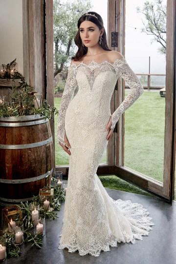 Casablanca Bridal Off-the-shoulder Wedding Dresses – Bridal Musings – 2428 – Reese 2