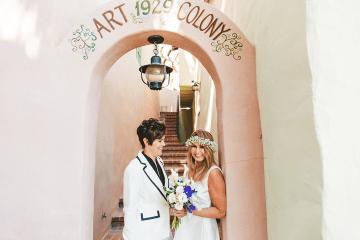 Stylish Same-Sex Palm Springs Wedding – Colony 29 – Ryan Horban Photography 5