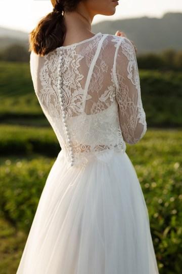 Feminine Simple Minimalistic Wedding Dresses by Mila Bridal 2020 2021 – Bridal Musings 20