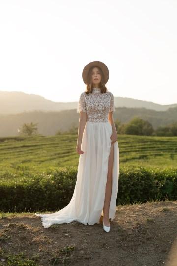 Feminine Simple Minimalistic Wedding Dresses by Mila Bridal 2020 2021 – Bridal Musings 23