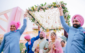 A Jubilant & Colorful Three Day Wedding In Punjab, India