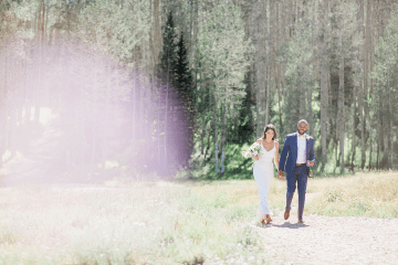 Intimate Enchanting Forest Elopement in Park City Utah – Gabriella Santos Photography 2