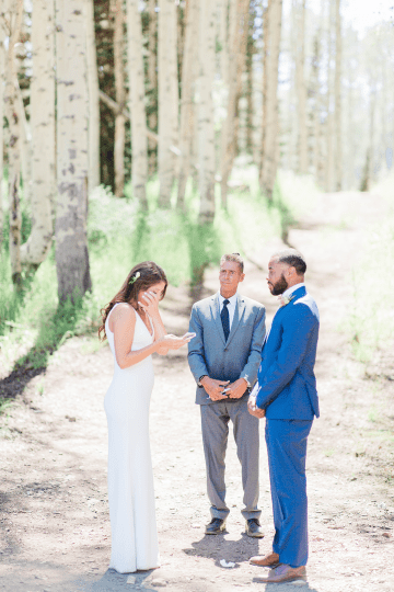 Intimate Enchanting Forest Elopement in Park City Utah – Gabriella Santos Photography 20