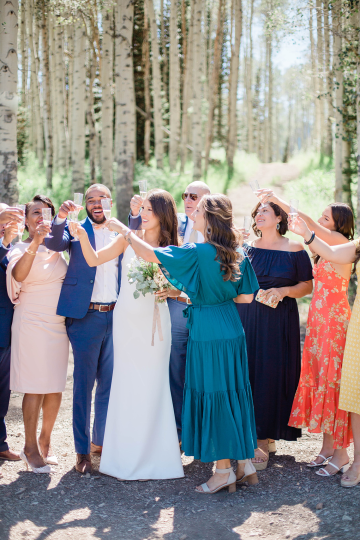 Intimate Enchanting Forest Elopement in Park City Utah – Gabriella Santos Photography 26