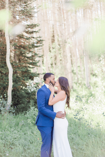 Intimate Enchanting Forest Elopement in Park City Utah – Gabriella Santos Photography 28
