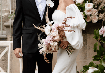Fashion-forward Countryside Wedding Inspiration – Elmore Court – Laura Martha Photography 2