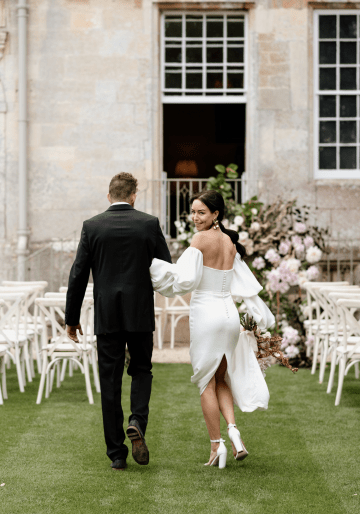 Fashion-forward Countryside Wedding Inspiration – Elmore Court – Laura Martha Photography 24