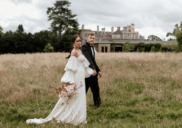 Fashion-forward Countryside Wedding Inspiration – Elmore Court – Laura Martha Photography 3