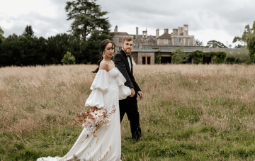 Fashion-forward Countryside Wedding Inspiration At Elmore Court