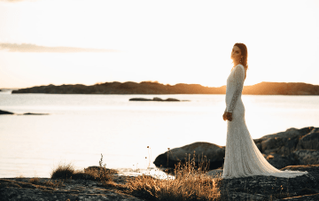 Modern Scandinavian Bridal Inspiration (& A Special Sweden Dress Pop-up!)