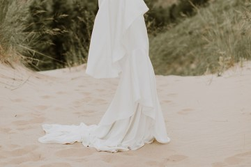 Modern and Fashion Forward 2021 Wedding Dresses by The LAW Bridal – Anderson Detail