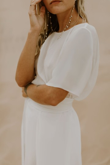 Modern and Fashion Forward 2021 Wedding Dresses by The LAW Bridal – Avery Detail