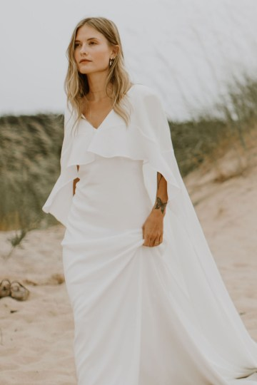 Modern and Fashion Forward 2021 Wedding Dresses by The LAW Bridal – Cameron Front
