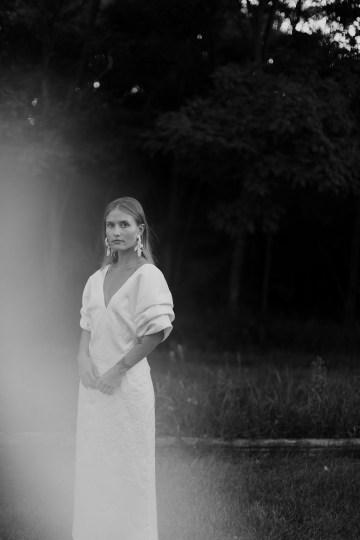 Modern and Fashion Forward 2021 Wedding Dresses by The LAW Bridal – Drew Midi