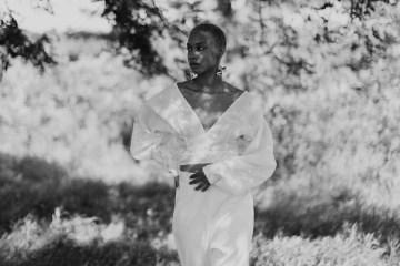 Modern and Fashion Forward 2021 Wedding Dresses by The LAW Bridal – Frances Blouse